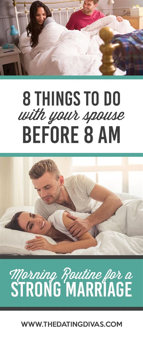 Morning Routine for Couples - From The Dating Divas