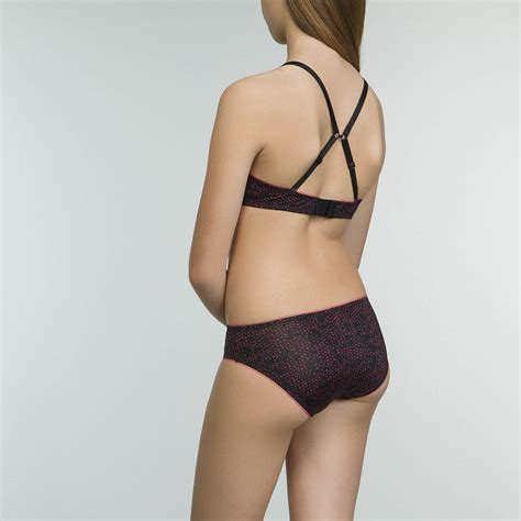 Girls' Bra with Molded Cups in Passion Color Dim Graphique