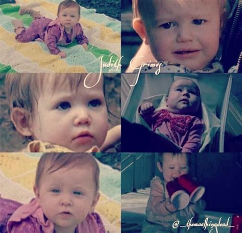 The Babies that played Judith Grimes on The Walking Dead