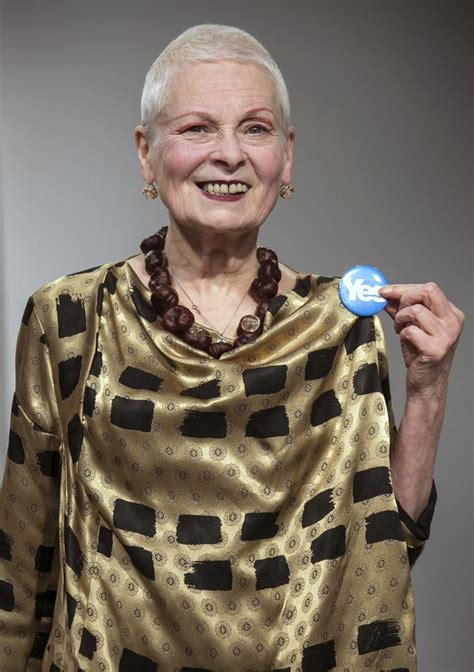 Vivienne Westwood uses LFW to show support for Scottish