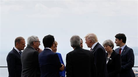 Justin Trudeau left out as G7 leaders huddle (VIDEO) — RT