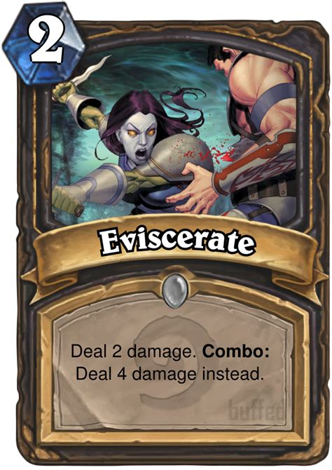 Eviscerate - Spell - Card - Hearthstone database, guides