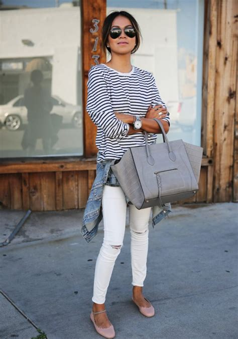 White Ripped Jeans - The Most Popular Jeans For This