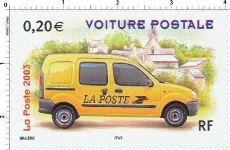 Timbre : 2003 VOITURE POSTALE   WikiTimbres