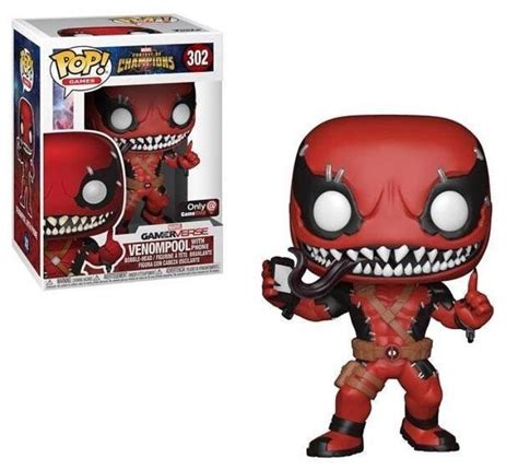 Preview of the upcoming GameStop Exclusive Venompool Pop