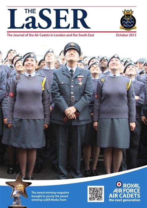 The LaSER October 2013 by London & SE Region Air Cadets