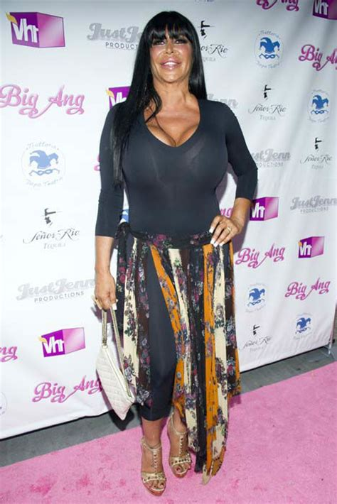 'Big Ang', reality TV star in 'Mob Wives,' dies after