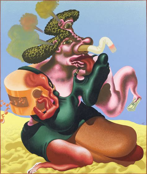 Colour and chaos: the pioneering pop art of Peter Saul
