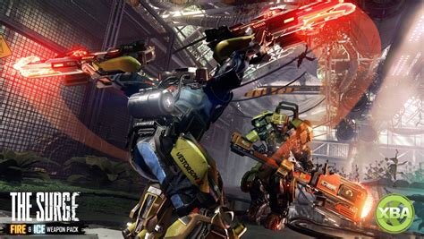 The Surge Free Fire and Ice Weapon DLC Pack Available Now
