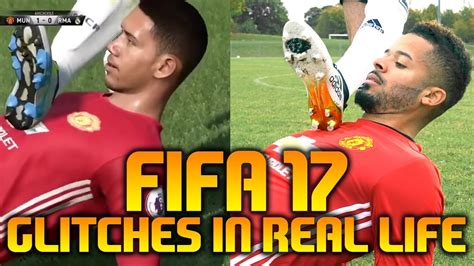 FIFA 17 GLITCHES / FUNNY MOMENTS IN REAL LIFE - YouTube