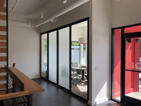 Floor to Ceiling Sliding Room Divider Project   Space Plus