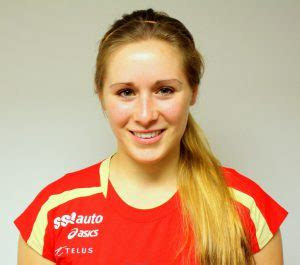 Audréa Bertrand Rouge et Or Volleyball