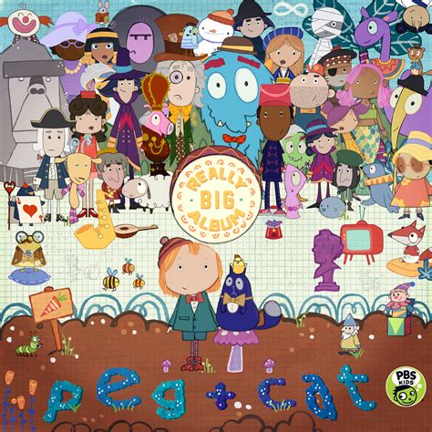 PEG + CAT Announce A Really Big Album - Out With The Kids