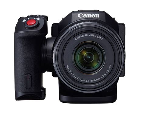Canon Unveils DSLR-Style XC10 4K Video Camera with 12MP