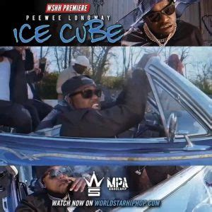 DOWNLOAD MP3: Peewee Longway – Ice Cube • Hip Hop Wave