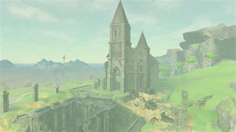 The Temple Of Time Has Returned In 'Zelda: Breath Of The Wild'