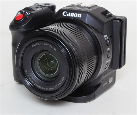 Canon XC10 4K Professional Camcorder – Please Read