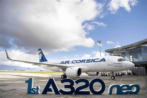Air Corsica Receives Its First Airbus A320neo - Simple Flying